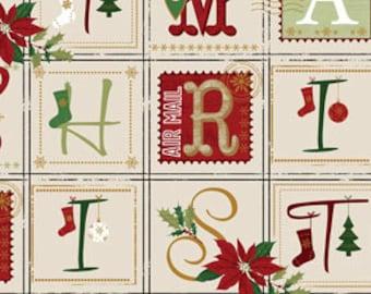 Very Merry, Holiday Magic, Benartex Fabric - fabric by the yard #15117