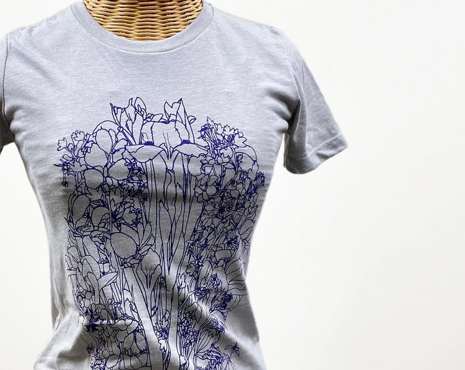 Irises  graphic t shirt