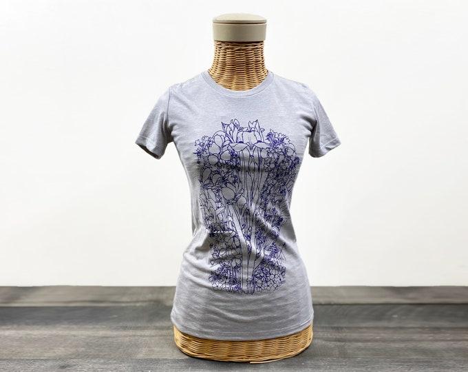 Irises  graphic t shirt