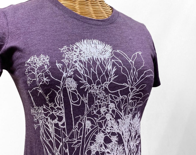 Herb garden graphic t shirt