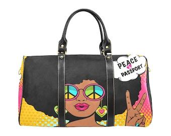 Peace& Passport travel bag