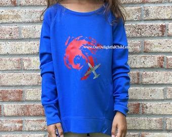 Hurricane Hunter 53d pullover sweatshirt - Girl sizes