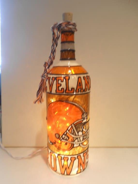 20 LED Lights Great Gift Idea Dr Pepper Handmade Lighted Bottle