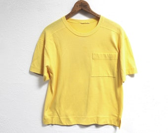 ad463699d1ede Canary yellow shirt   Etsy