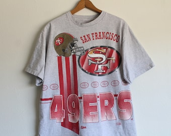 5eee6d9c0 XLARGE Vintage 1990s San Francisco 49ers (Front and Back) Graphic T-Shirt