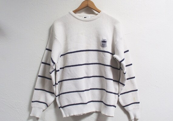 MEDIUM Vintage 1970s Painter Sweater