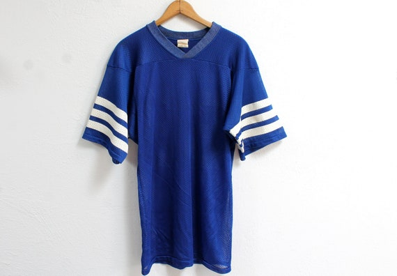 SMALL Vintage 1980s 33 Nylon Jersey