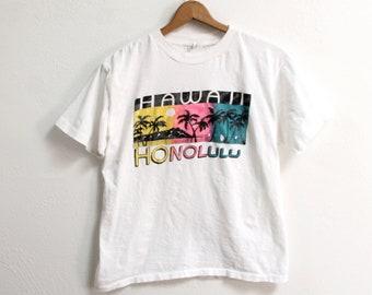 XLARGE Vintage 1980s Honolulu Hawaii T-Shirt