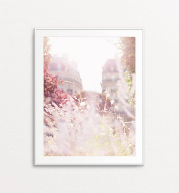 Paris Wall Art, Paris Decor, Paris Print, Paris Bedroom Decor, Paris Photography, Wall Art Blur Photography, Stylish Wall Art