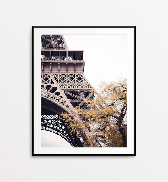 Eiffel Tower Photo - Paris Photography, Paris Print, Paris Decor, Paris Wall Art, Autumn in Paris, Paris Wall Art Print, Paris Bedroom Decor