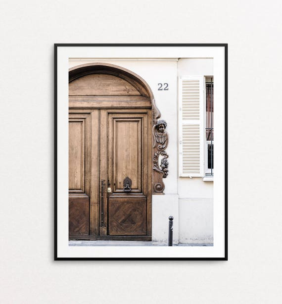 Paris Door Photo, Paris Photography, Paris Print, Home Decor, Paris Wall Art, Paris Architecture, Paris Decor, Paris Bedroom Decor