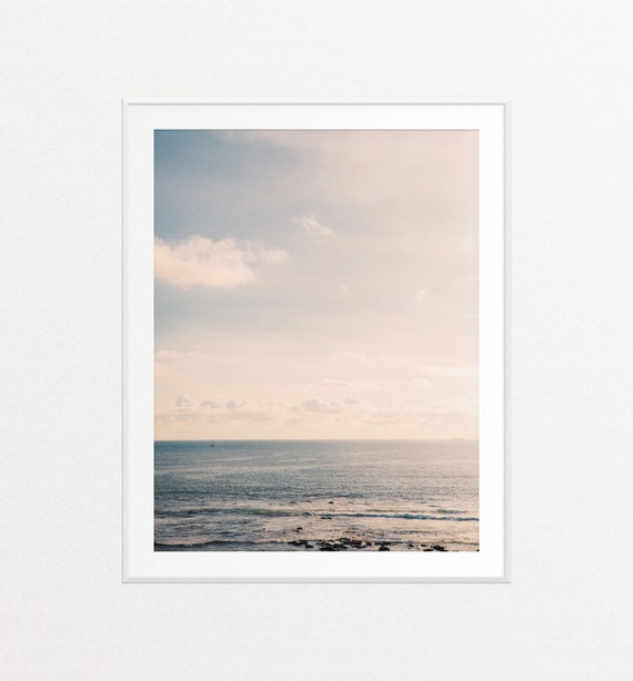 Ocean Print, Ocean Wall Art, Atlantic Ocean Art, Nature Photography, Travel Decor, Nature Prints, Nature Wall Art