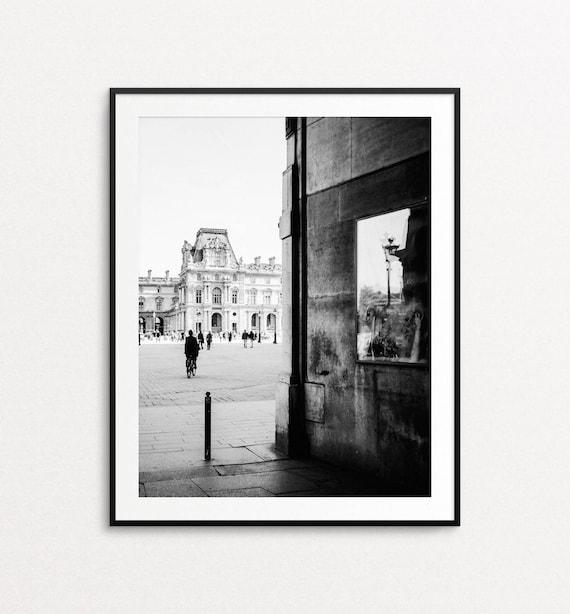 Paris Photography, Louvre Print, Paris Wall Art, Paris Print, Paris Decor, Paris Street Photography, Paris Architecture