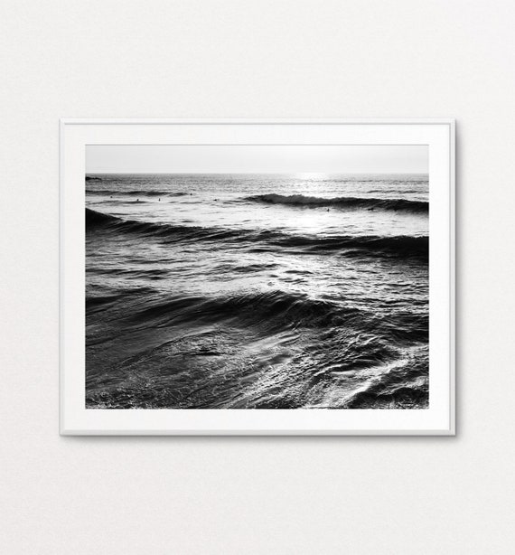 Ocean Photography, Ocean Print, Surfers Print, Ocean Decor, Ocean Wall Art, Sea Print, Sea Wall Art, Surfers Wall Art