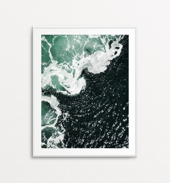 Ocean Print, Ocean Wall Art, Ocean Photography, Nature Wall Art, Nature Print, PNW Print, PNW Photography