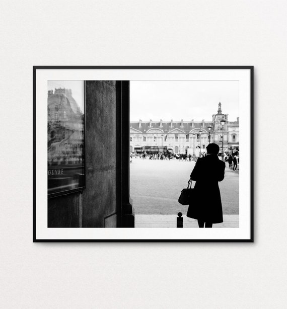 Paris Print, Louvre Print, Paris Wall Art, Louvre Wall Art, Paris Decor, Paris Street Photography, Paris Architecture