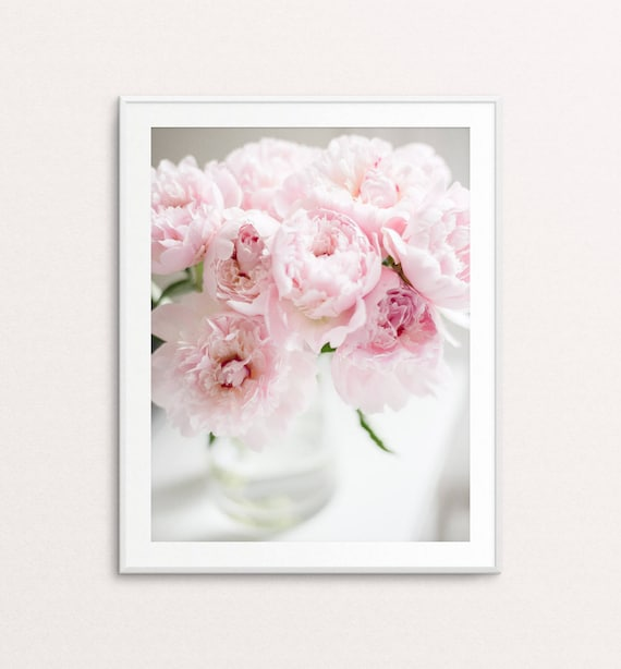 Peonies Photo - Peonies Print, Floral Photography, Floral Print, Girls Bedroom Decor, Floral Wall Art, Peonies Wall Art, Bedroom Decor