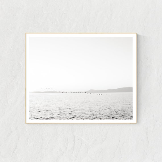 Ocean Print, Ocean Decor, Ocean Wall Art, Sea Print, Sea Wall Art, Puget Sound
