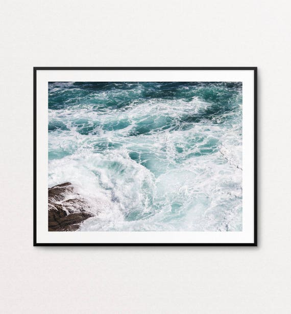 Ocean Print, Ocean Photography, Sea Photography, Ocean Fine Art Photography, Ocean Wall Art, Ocean Home Decor