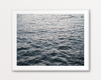 Ocean Print, Paris Print, Paris Decor, Paris Wall Art, Paris Bedroom Decor, Paris Photography, Wall Art blur photography, Wall Art Calm