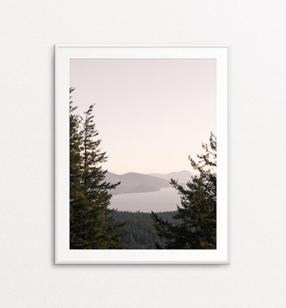 Nature Wall Art, Nature Photography, Puget Sound Print, San Juan Islands Print, PNW Art, PNW Print