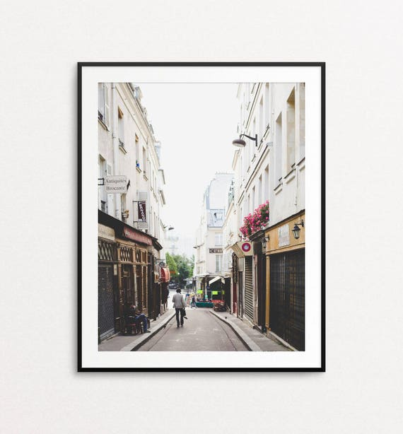 Paris Photograph, Paris Print, Paris Street Photography, Paris Decor, Home Decor, Paris Wall Art, Paris Images, Paris Bedroom Decor
