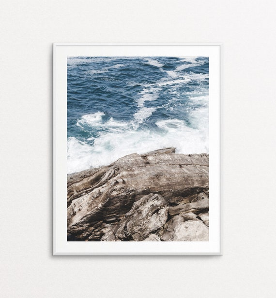 Ocean Print, Ocean Photography, Sea Photography, Nature Photography, Home Decor, Sea Print, Nature Wall Art, Large Nature Wall Art