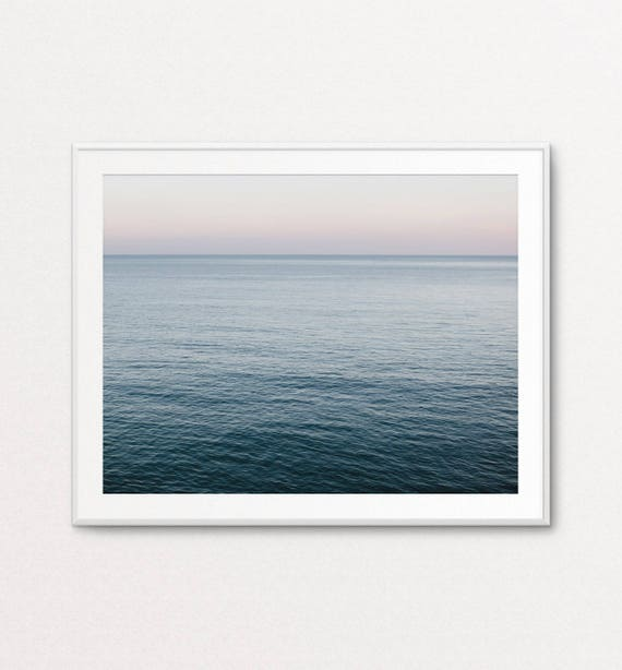 Ocean Print, Ocean Photography, Sea Photography, Nature Photography, Home Decor, Sea Print, Nature Wall Art, Quiet Photography