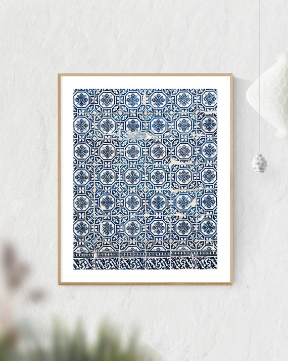 Portugal Tiles, Azulejo Tiles, Azulejo Print, Porto Print, Porto Portugal, Portugal Colors, Porto Wall Art, Blue Tiles
