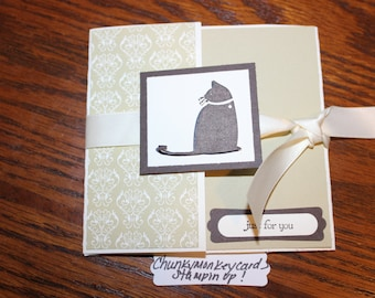 Stampin uprubber hedgehog homemade greeting card succulent etsy stampin up homemade greeting card just for you m4hsunfo