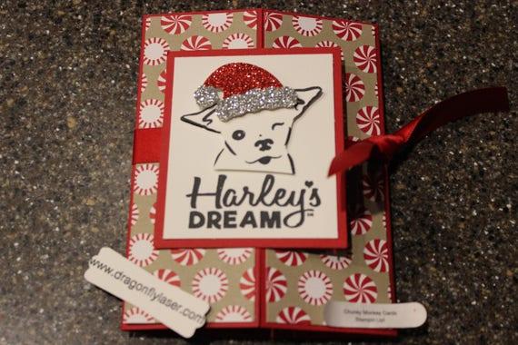 Stampin up homemade greeting card harleys dream 7000 etsy image 0 m4hsunfo
