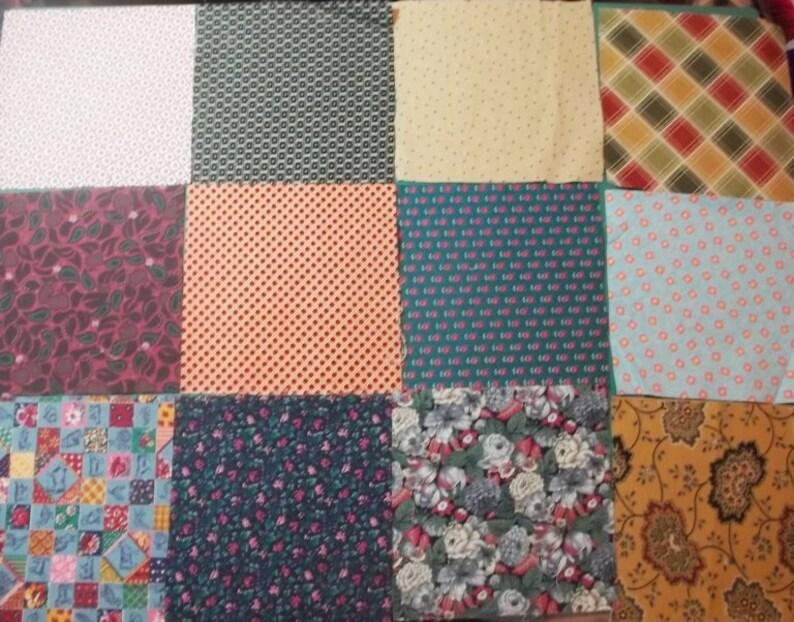 Fabric Charm pack 3\u2013 6 inches