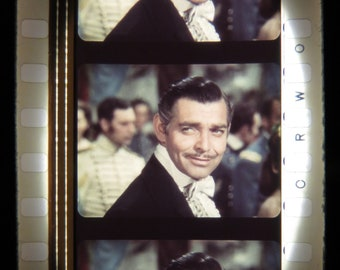 Gone With The Wind - CLARK GABLE - Film Strip