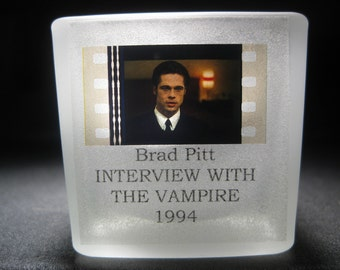 Brad Pitt - Interview with the Vampire - Film Cell - Glass Votive