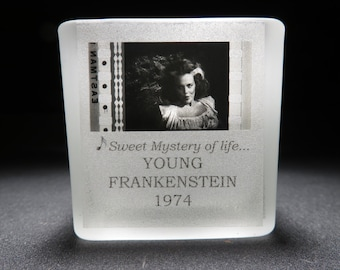 Madeline Kahn - Young Frankenstein - Film Cell - Glass Votive