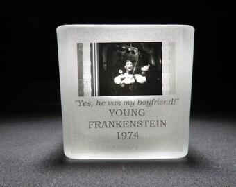 Cloris Leachman - Young Frankenstein - Film Cell - Glass Votive