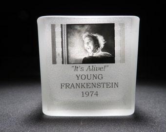 Gene Wilder - Young Frankenstein - Film Cell - Glass Votive