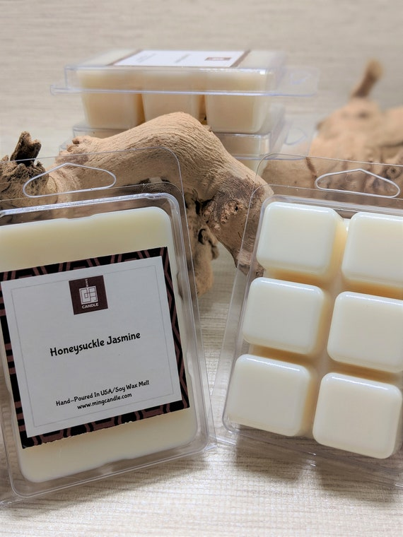 - Mild Scent Strength Fresh Pear /& Spearmint Clean Green Scent ALL NATURAL Soy Wax Melts HANDMADE