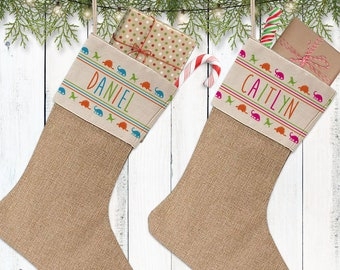 more colors kids christmas stocking personalized