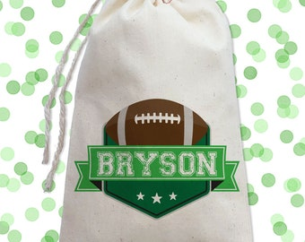 505f44f369 Football Birthday Party Favor Bags
