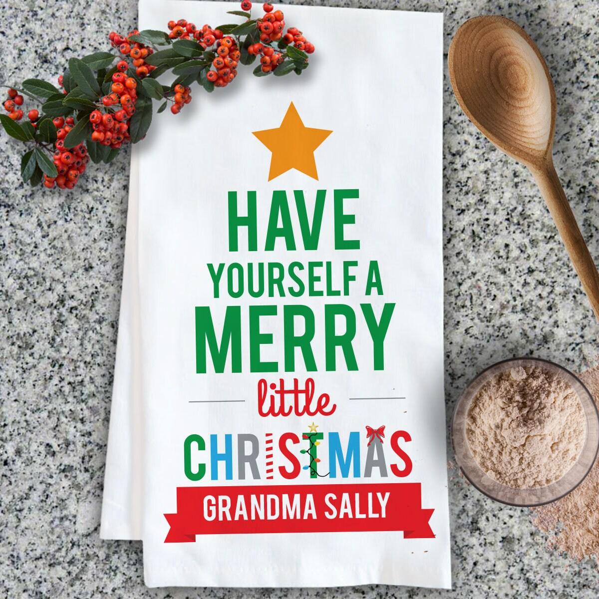 Personalized Christmas Gift Christmas Kitchen Gift Custom | Etsy