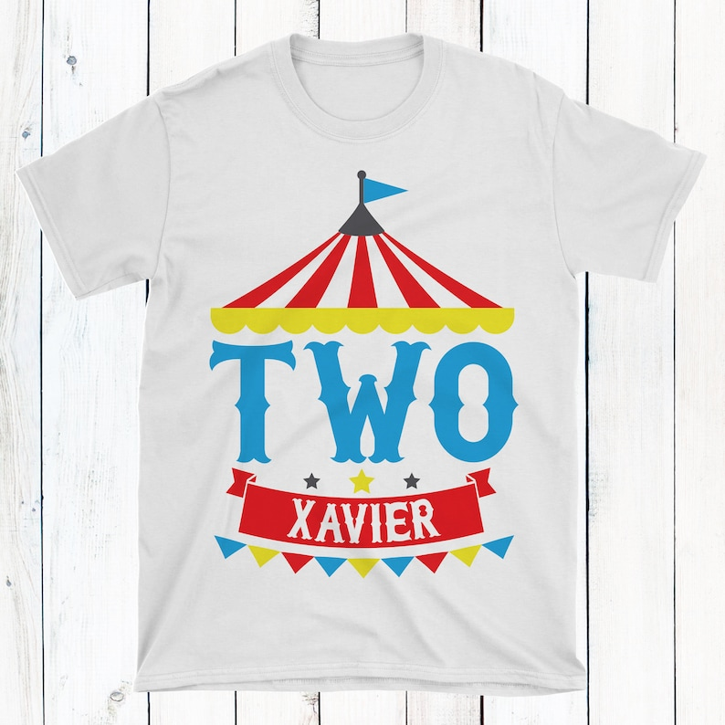 Circus Party Shirt Birthday Kids