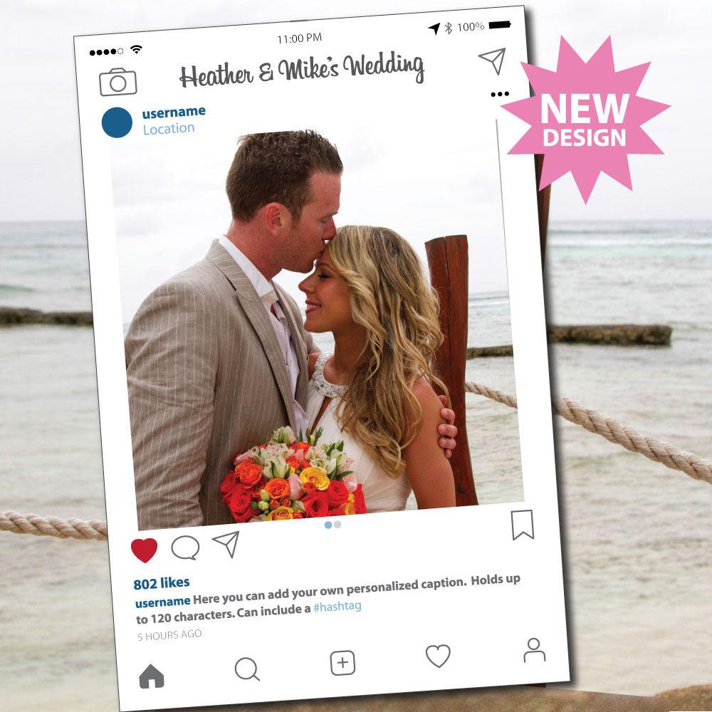 Instagram Rahmen Photo Booth Requisiten Photobooth stützen | Etsy