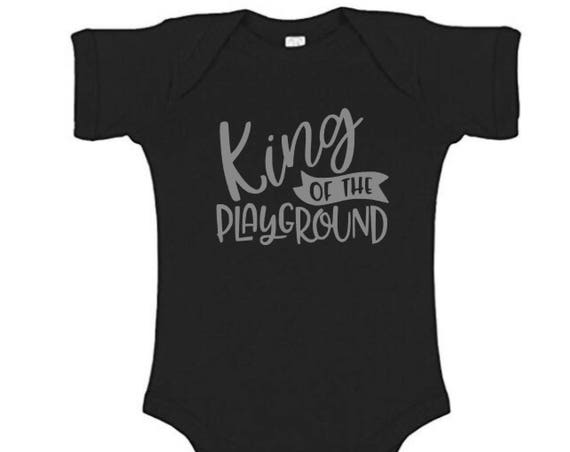 Playground King Onesie