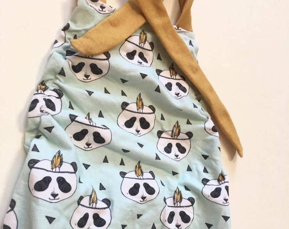 Boho Panda Romper