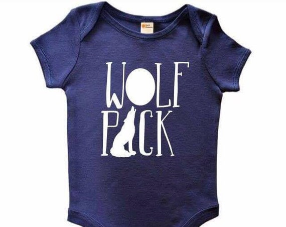 Wolf Pack Onesie