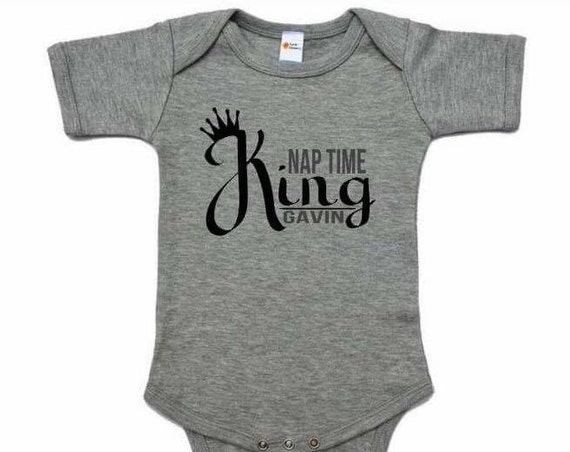 Nap Time King Onesie