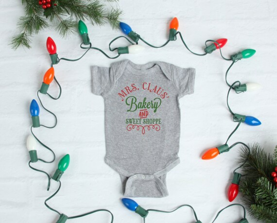 Mrs. Claus' Bakery Onesie