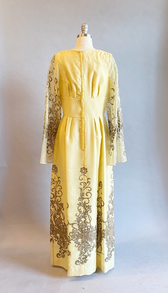 1960s Alfred Shaheen Dress / 60s Shaheen Dress / … - image 6
