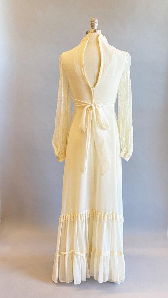1970s Gunne Sax Dress / 70s Maxi Dress / 1970s Gu… - image 6